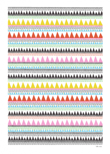affiche, affiche couleur, affiche tipi, affiche the little studio, the little studio